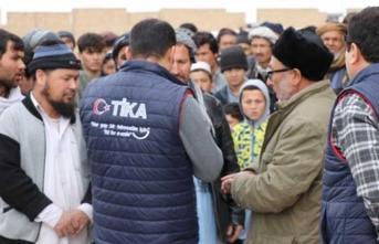 TİKA'dan Afganistan'a acil gıda desteği