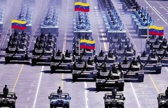 Venezuela ordusundan flaş hamle! Tatbikata başladılar