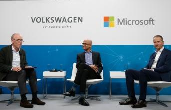Volkswagen ile Microsoft otomobillerde bulut bilişim ortaklığını derinleştiriyor