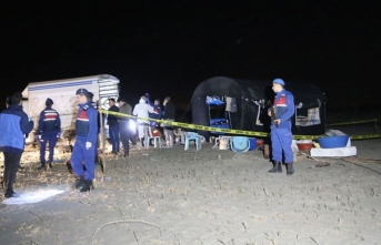 Adana'da 5 kişi çadır içinde ölü bulundu