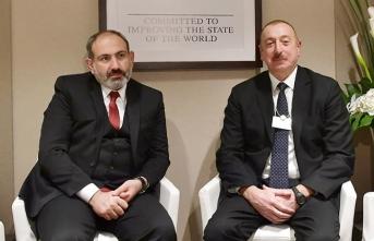 Aliyev ve Paşinyan görüştü!
