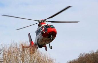 Hamile kadın için havalanan helikopter düştü: 5 ölü