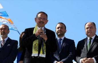 'Ankara için 5 bine yakın projemiz var'