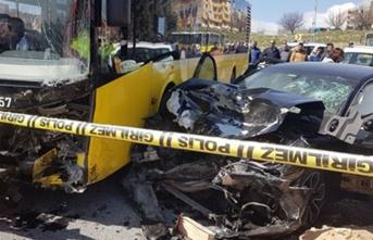 Başakşehir'de feci kaza: Ölü ve yaralılar var