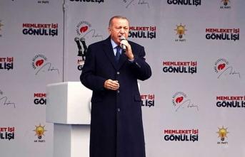 Başkan Erdoğan: Biz kovalayacağız onlar kaçacak