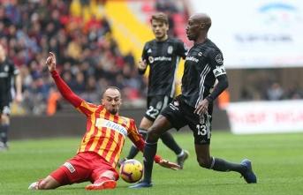 Beşiktaş Kayseri'de takıldı