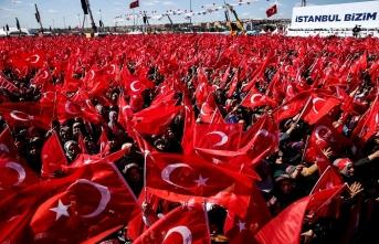 """Cumhur İttifakı'nın """"Büyük İstanbul Mitingi"""" başladı..."""
