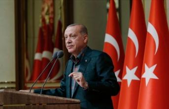 Cumhurbaşkanı Erdoğan'ın mesajına 'Bana emanet' yanıtı