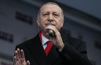 Cumhurbaşkanı Erdoğan: Artık baktılar ki tutmuyor, bu yalana başvurdular