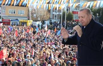 Cumhurbaşkanı Erdoğan: Bu toprakları böldürmeyeceğiz