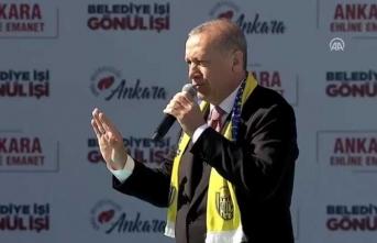 Cumhurbaşkanı Erdoğan: Bunlara ültimatom peşinen verildi