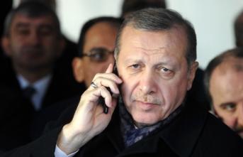 Cumhurbaşkanı Erdoğan telefonda görüştü!