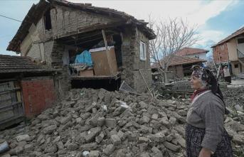 'Depremde 22 vatandaş yaralandı, 278 binada hasar tespiti yapıldı'