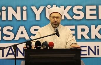 'Dinin istismar edilmesini önleyecek olan biziz'