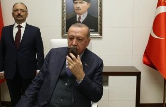 Erdoğan'dan 'Mavi Vatan 2019 Tatbikatı'na katılanlara başarı dileği