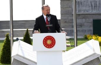 Başkan Erdoğan'dan Çanakkale'de peş peşe flaş mesajlar