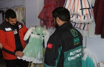 İHH'den Suriye'de hayır mağazası
