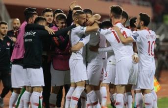 İşte A Milli Takım'ın bu akşam ki Moldova maçı 11'i