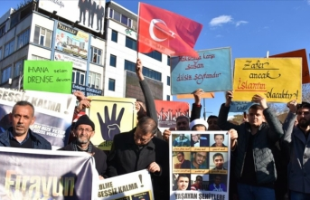 Malatya'da, Mısır'daki idamlar protesto edildi