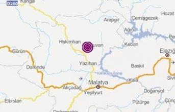 Malatya orta şiddette depremle sallandı