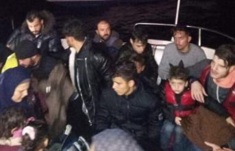 Muğla'da 25 düzensiz göçmen yakalandı