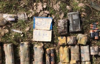 PKK'ya şok! Şemalar ele geçirildi