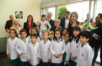 Prof. Dr. Canan Karatay, Başkan Sözlü'nün misafiri oldu