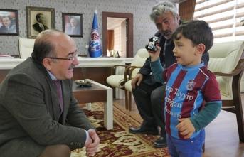 Recep Tayyip Erdoğan, Başkan Gümrükçüoğlu'nu ziyaret etti