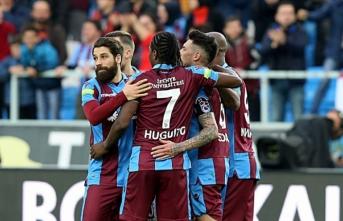 Trabzonspor sahasında kazandı