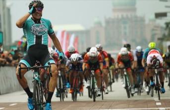 24. Langkawi Bisiklet Turunda 3. etabın galibi ABD'li McCabe