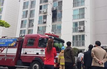 Apartmanda dehşet! Yangın çıkarıp kaçmaya çalışanları katletti
