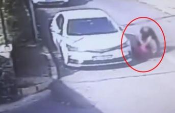 Aracına erik atan çocuğu öldüresiye döven vicdansız yakalandı