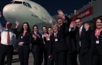 Atatürk Havalimanı'nda veda uçuşu