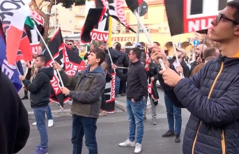 Avrupa'nın göbeğinde ırkçı tepki!