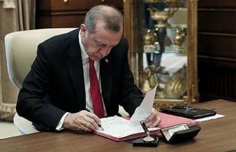 Başkan Erdoğan'ın imzasıyla 5 kişinin mal varlığı donduruldu