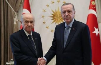 Cumhurbaşkanı Erdoğan ile Bahçeli görüşecek