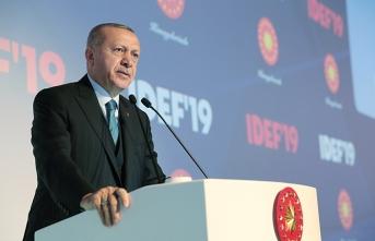 Cumhurbaşkanı Erdoğan'dan flaş F-35 mesajı