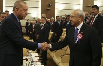 Erdoğan ve Kılıçdaroğlu'ndan saldırı sonrası ilk buluşma