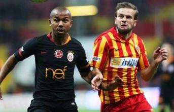 Galatasaray Kayserispor maçı 11'leri belli oldu