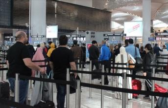 İstanbul Havalimanı 5 günde 637 bin yolcu ağırladı
