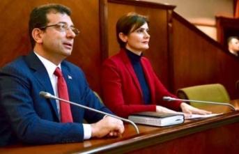 Kaftancıoğlu'ndan 'İmamoğlu'na eş başkan' pozu