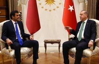 Katar Emiri'nden Erdoğan'ın sözlerine destek!