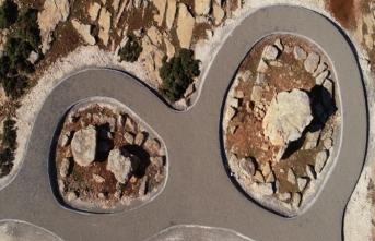Kaya mezarları turizme kazandırıldı