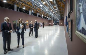 Kılıçdaroğlu resim sergisi gezdi