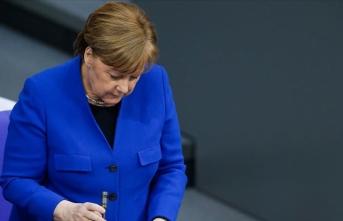 Almanya Başbakanı Merkel'in acı günü