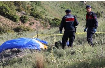 Paraşüt pilotunun feci ölümü!