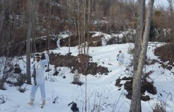PKK'lı teröristlerin kış üslenmesine darbe!