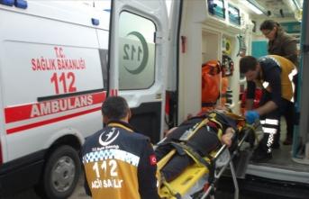 Tekirdağ'da öğrenci servisi devrildi: 16 yaralı