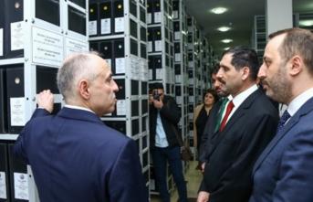 TİKA desteğiyle Azerbaycan'da noter arşivi kuruldu