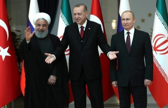 Türkiye, Rusya ve İran'dan ortak tepki